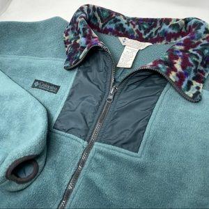 Columbia Vintage Vaporwave Fleece Full Zip Jacket